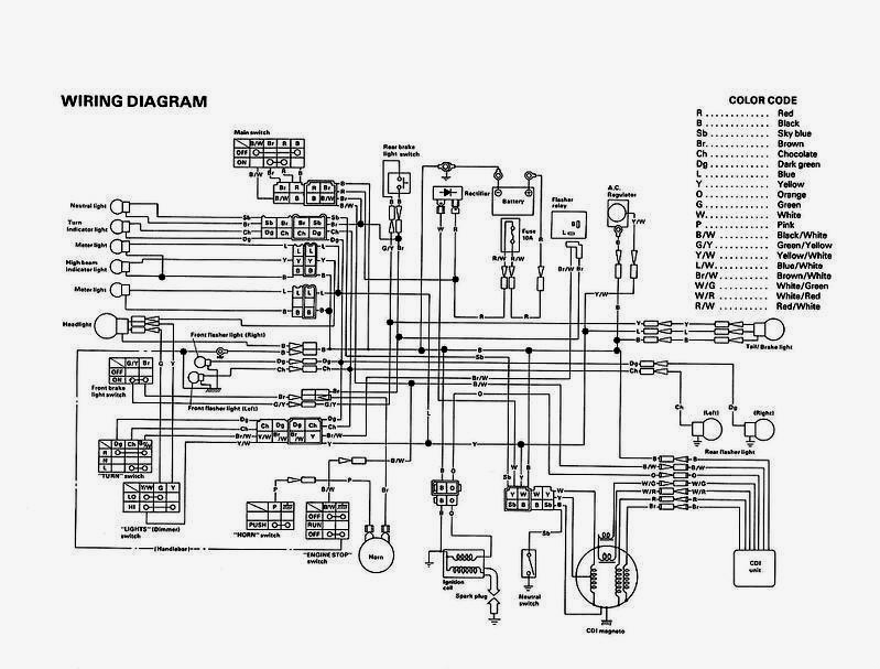 wiring diagram xt500